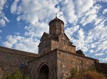 Forntida kloster av Tatev i Armenien Arkivbild
