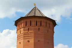 Forntida klostertorn Royaltyfria Bilder