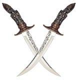 Forntida knivar Arkivbild