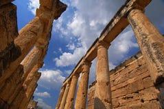 forntida kolonner Fotografering för Bildbyråer