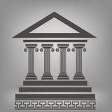 forntida kolonner Arkivbild