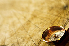 forntida kompass royaltyfri fotografi