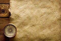 forntida kompass arkivfoto