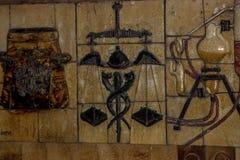 forntida konst Fotografering för Bildbyråer