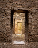 forntida korridor Royaltyfri Bild