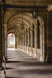 forntida korridor Royaltyfri Foto