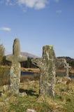 forntida kors Fotografering för Bildbyråer