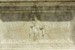 Forntida kristen lättnad arkivbild