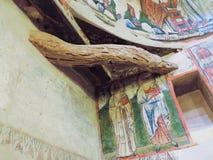 Forntida kristen målning för tredje århundradeANNONS arkivbild
