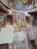 Forntida kristen målning för tredje århundradeANNONS arkivfoton