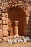 forntida kristna delphi fördärvar Arkivbild