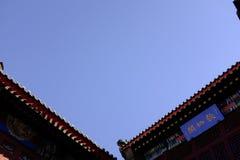 Forntida kulturgata i Tianjin, Kina Royaltyfri Bild