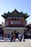 Forntida kulturgata i Tianjin, Kina Royaltyfri Foto
