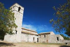 forntida kyrka Arkivbilder