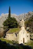forntida kyrka Royaltyfri Fotografi