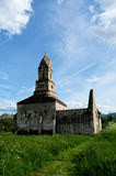 Forntida kyrka Arkivfoto