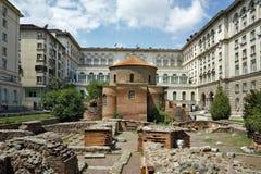Forntida kyrka av St George Royaltyfria Foton