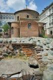 Forntida kyrka av St George Arkivbilder