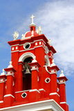 Forntida kyrka i oaxaca II Royaltyfri Foto