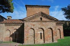 Forntida kyrka i Ravenna Royaltyfria Bilder