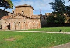 Forntida kyrka i Ravenna Royaltyfri Bild