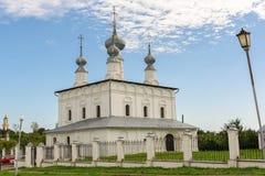 Forntida kyrka i Suzdal Arkivbilder