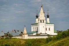 Forntida kyrka i Suzdal Ryssland Arkivfoto