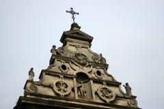 forntida kyrklig sten Royaltyfri Bild