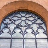 forntida kyrkligt fönster Royaltyfri Foto