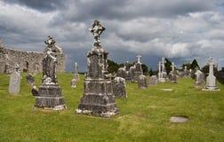 forntida kyrkogård Royaltyfri Fotografi
