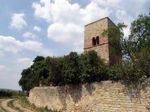 forntida kyrkogård Arkivfoto