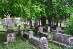 forntida kyrkogårdmuslim Arkivbilder