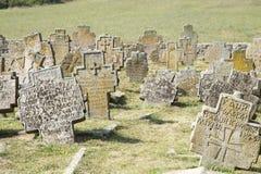 forntida kyrkog?rd royaltyfri bild