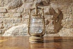 forntida lampolja Arkivfoto