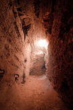 forntida ljus tomb arkivfoto