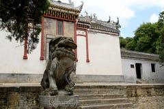 Forntida Longchung, historiska områden av perioden för tre kungariken Royaltyfria Foton