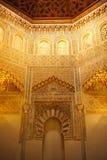 Forntida madrasa, Granada, Spanien Arkivbilder