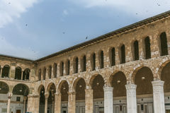Forntida Masjid Al Amawi Mosque Fotografering för Bildbyråer