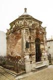 forntida mausoleum Fotografering för Bildbyråer