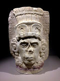 Forntida Maya Art royaltyfria bilder