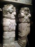Forntida Maya Art arkivfoto
