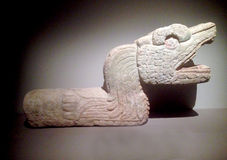 Forntida Maya Art royaltyfria foton