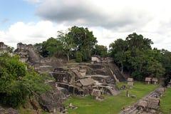forntida mayan fördärvar arkivfoton