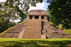 Forntida mayastad av Palenque XII royaltyfri bild
