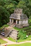 Forntida mayastad av Palenque XVII Arkivbild
