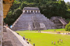 Forntida mayastad av Palenque XXV Royaltyfria Bilder