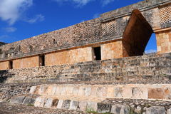 Forntida Mayastad av Uxmal XXV Royaltyfri Bild