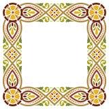 Forntida medeltida stilram Fotografering för Bildbyråer