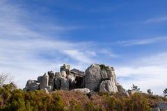 forntida megalithstenar Arkivfoton