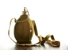 Forntida militär flaska royaltyfri bild